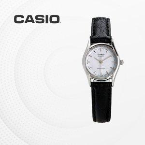 카시오 CASIO LTP-1094E-7A 가죽밴드 여성 손목시계