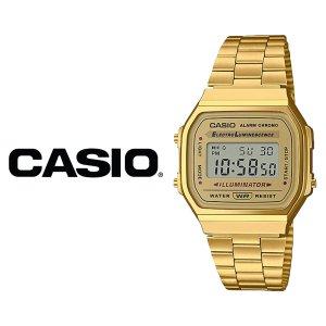 카시오 CASIO A-168WG-9W 손석희시계 골드메탈 A168WG
