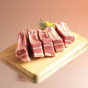 [농할쿠폰20%] [농사랑]해피엠 돼지 찜용 등갈비 1kg 1등급