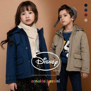 아날도바시니 디즈니 멜랑쥬 퀼팅패딩 티셔츠 2종 세트