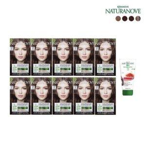 [네츄라노브] [NATURANOVE] 프랑스직수입 내츄라노브 컬러레이션 퍼머넌트 자연유래 염모제