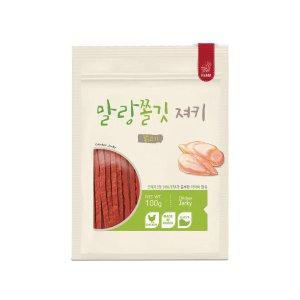 [유통기한 2021-07-12] 파밀 말랑쫄깃 닭고기 져키 100g