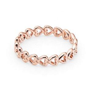 판도라 180177 Linked love PANDORA ROSE Ring