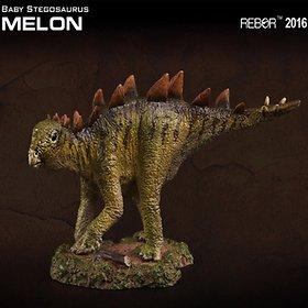 [리보] REBOR 베이비 스테고사우루스 공룡 피규어