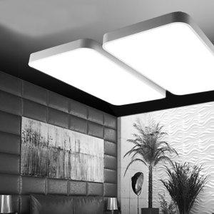 [룩스온] LED거실등 시스템 거실4등 100W 국산칩