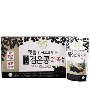 100% 국산 검은콩 21곡 두유 45팩 / 무첨가