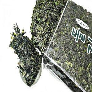 [수산쿠폰20%] 인공가공을 거치지 않은 자연산 건 파래자반 240g
