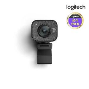 로지텍코리아 Stream Cam 스트리밍 웹캠 블랙