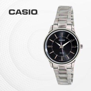 카시오 CASIO LTP-1303D-1A 메탈밴드 여성 손목시계