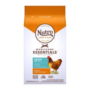 [유통기한 2021-04-17] 뉴트로 캣 1세이상 인도어 닭고기와 현미 2.27kg
