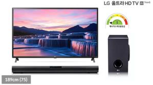 [LG](+LG 무선 사운드바) 울트라HD TV AI ThinQ 75UN7850KNA (189cm(75) / 1등급 / IPS / 인공지능)