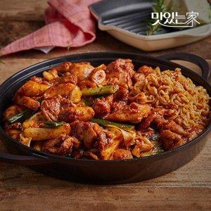 [맛있는 ]춘천 맛집 통나무집닭갈비 2인분/3인분 매장동일상품