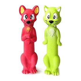 펫모닝 라텍스 덴탈 토이 고양이와 쥐 [PMD-175](랜덤)