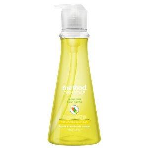 메소드 친환경주방세제 용기 레몬민트532ml