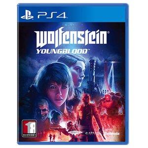 PS4 울펜슈타인 영블러드 한글판 중고 당일발송