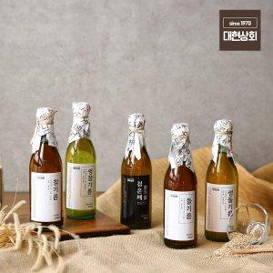 350ml 국산 참기름 들기름 생들기름/50년전통대현상회