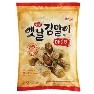 진주햄 포차 옛날 김말이튀김 1kg 매운맛 분식 튀김