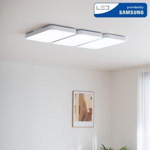 LED 커브드 시스템 거실등 180W (화이트)