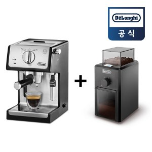 드롱기 ECP35.31+KG79 반자동커피머신+커피그라인더