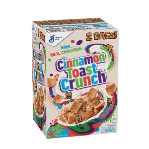 c / General Mills Cinnamon Toast Crunch cereal 1.4kg