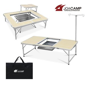 접이식 화로대테이블 바베큐 캠핑테이블 야외테이블