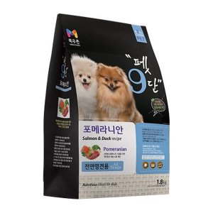 목우촌 펫9단 포메라니안 전용 1.8kg