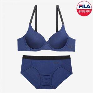 (하프클럽)[휠라언더웨어] FILA 아웃핏 블랙밴드 여성속옷세트FI4BAC6445FNAY_P086515376