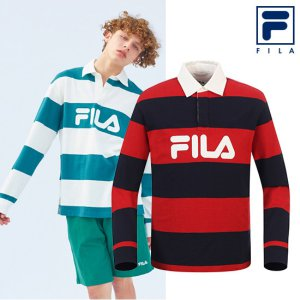 스트라이프 럭비 셔츠 FS2TLA1101X_DRD