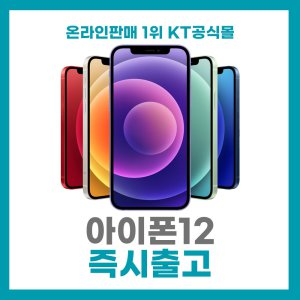 Apple 아이폰 12 256GB 퍼플 즉시발송 KT