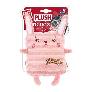 Gigwi 네모돌이 핑크래빗 강아지장난감