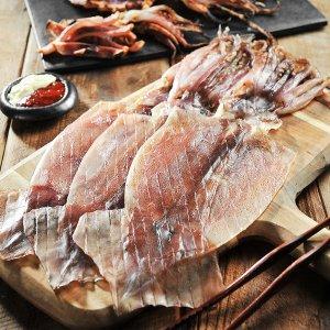 [수산쿠폰20%] 건어물녀 동해안 마른오징어 대 5미 375g내외