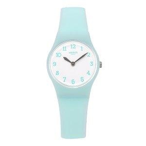SWATCH 스와치 LG129 여성용 쿼츠 실리콘 시계