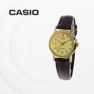 카시오 CASIO LTP-1095Q-9A 가죽밴드 여성 손목시계