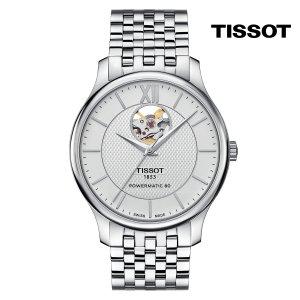 티쏘 트래디션 하트 T063.907.11.038.00 40mm 메탈