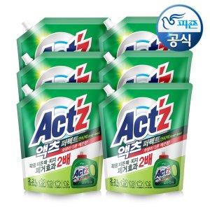 액츠 액체세탁세제 퍼펙트 2.2L - 안티박 X6