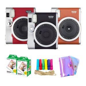 [10% 카드할인] 인스탁스 미니90+필름40장+2단앨범+선물세트+이벤트