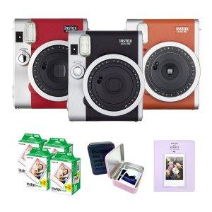 인스탁스 미니90+필름80장+레트로킷+선물세트+이벤트