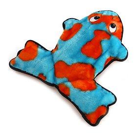 카이젠 삑삑이 개구리 장난감 블루 L