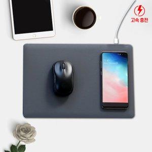 CANO 무선 충전 마우스패드 스마트폰 충전가능