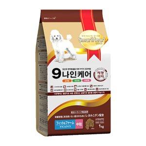 [럭셔리독 100G 증정] 나인케어 강아지 체형관리 어덜트 1kg