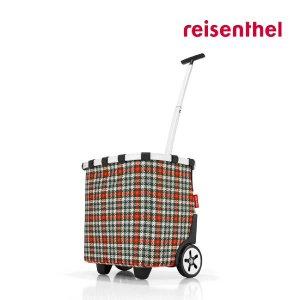 [현대백화점 대구점] [독일 라이젠탈] 캐리크루저 글렌체크 레드/쇼핑카트/핸드카트
