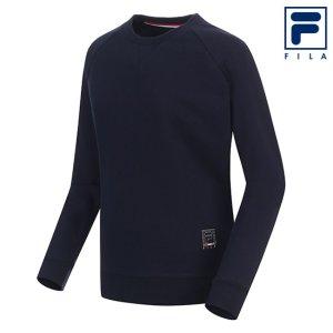 남성 맨투맨 라운드 티셔츠 FE2POA5992X_NAY