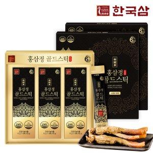 한국삼 홍삼정 골드스틱  30포 2박스/쇼핑백/추석