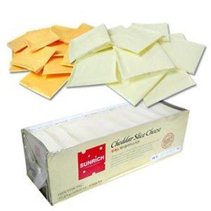 코리원 무색소 체다 슬라이스 치즈 100매