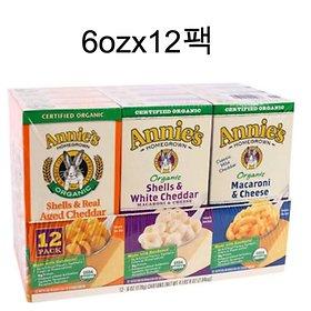 c / Organic Annie Mac and cheese 6ozx12 pack / Organic Annies