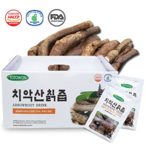 [토토원] 강원식품 치악산칡즙 4박스 (120포)