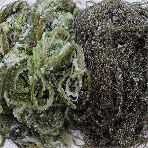 (하프클럽)[과일먹는곰] 목포 해초류 염장꼬시래기1kg+미역줄기1kg 염장해초_P084187394