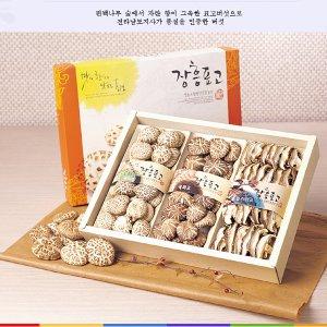 유기농 장흥표고세트백화고혼합 버섯세트370g