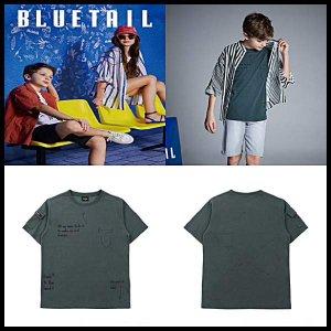 [현대백화점 울산점] [블루테일울산]AUB3TS06KK 남아 스트릿 워커 패치 티셔츠/굿럭템