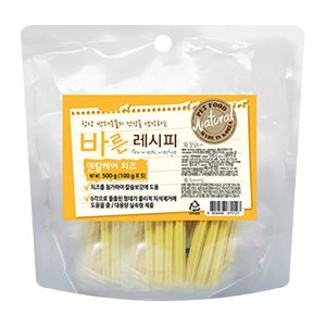 [유통기한 2020-07-23] 바른레시피 덴탈케어 치즈 500g